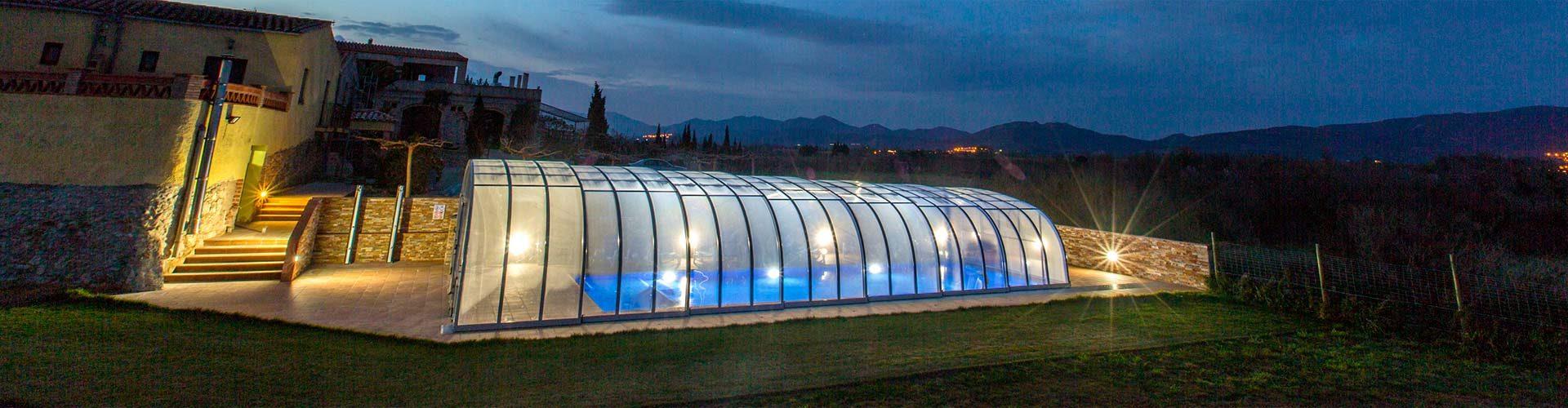 Projecte piscina coberta