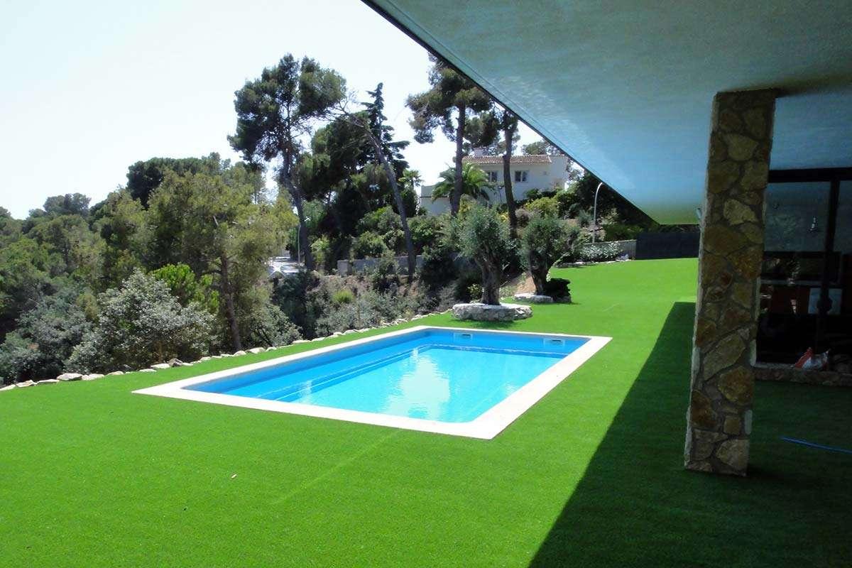 Acabats de màxima qualitat, piscina de polièster, Espai Piscines Graf