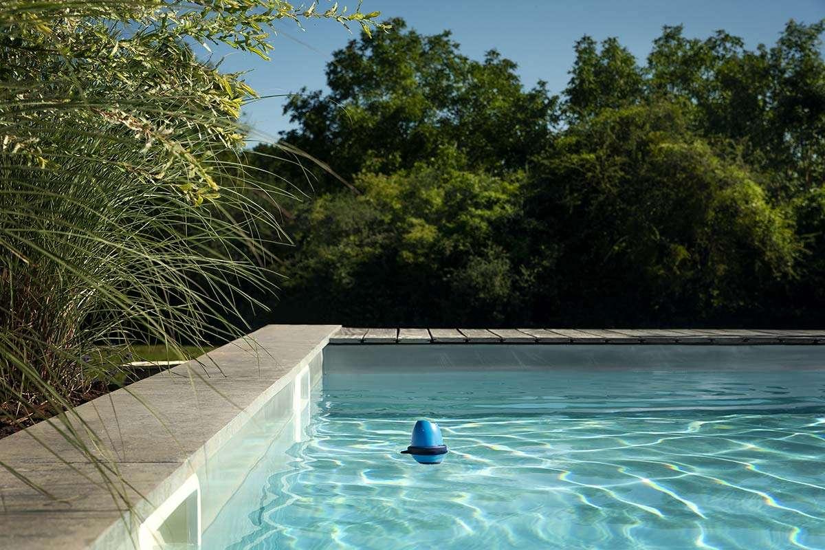 Analitzador d'aigua Blue Connect per a piscines, manteniment d'una piscina, Espai Piscines Graf