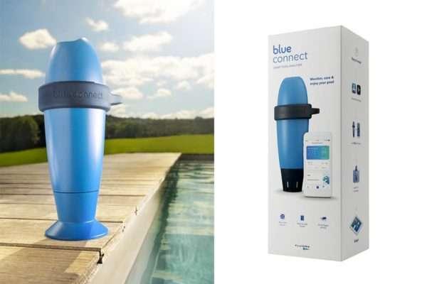 Analitzador d'aigua Blue Connect per a piscines