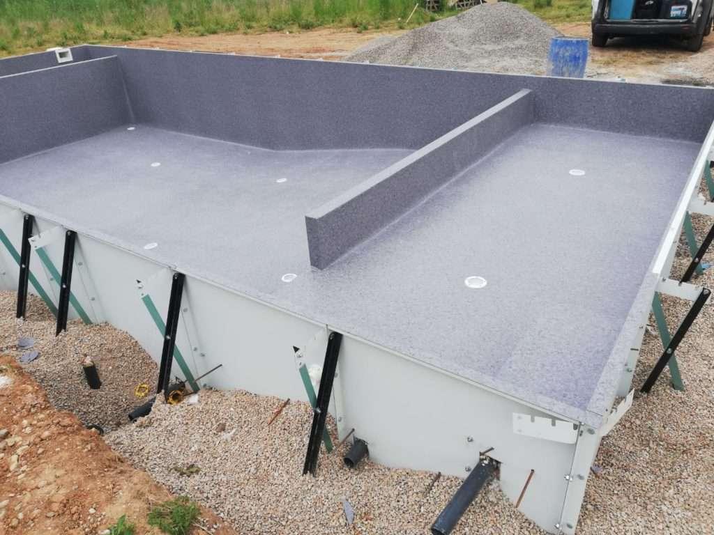 Instal·lació piscina acergraf, Espai Piscines Graf