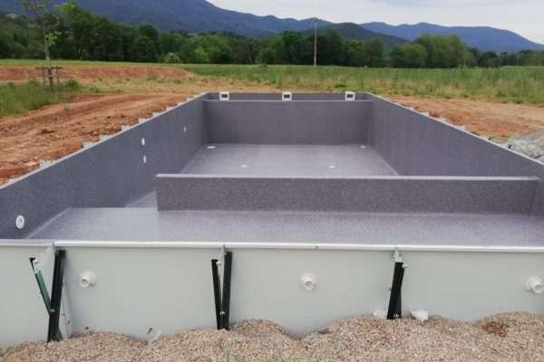 Instal·lació piscina acergraf, Espai Piscines Graf 2